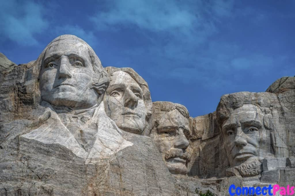 US Last Five Presidents at Mt Rushmore