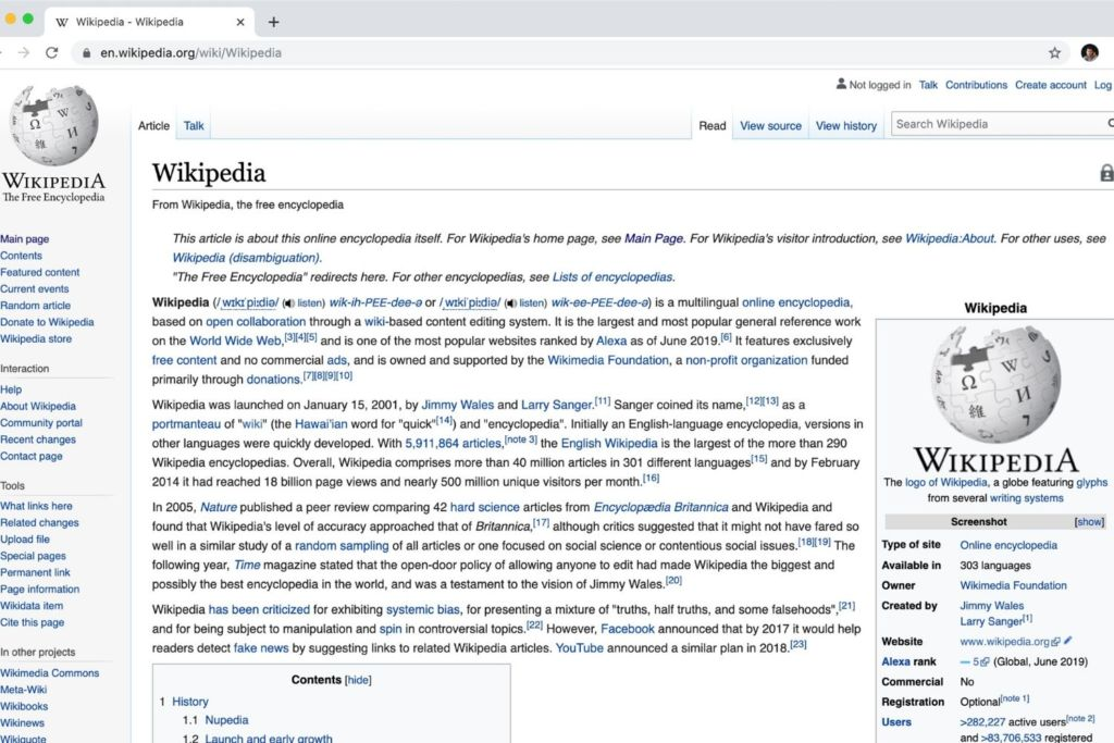 40+ Nationalities Read Their Country's Wikipedia Page