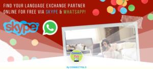 Language Exchange Online: 100% Free via Skype, WhatsApp, & Other Apps