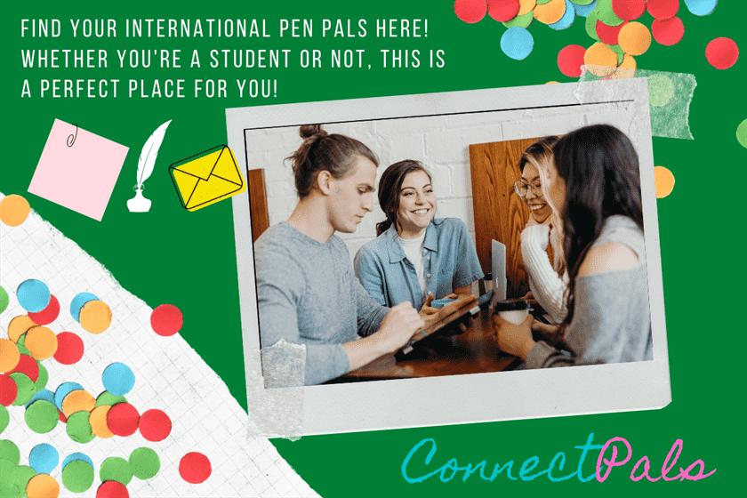 find international pen pals for students