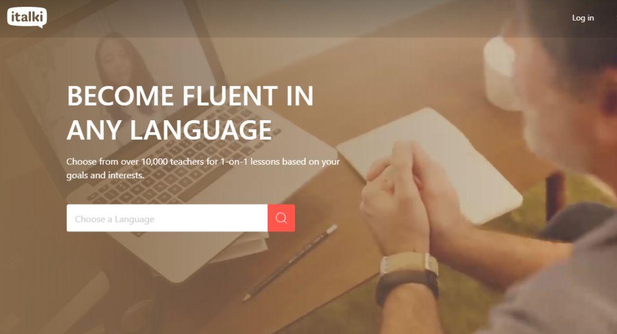 italki homepage