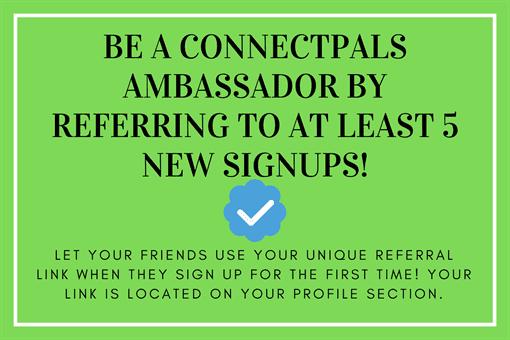 ConnectPals Ambassador / Verified member